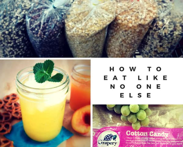 How to Eat Like No One Else