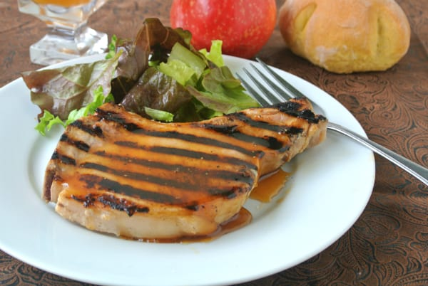 sage brined pork chops with brown sugar glaze brined pork chops with ...
