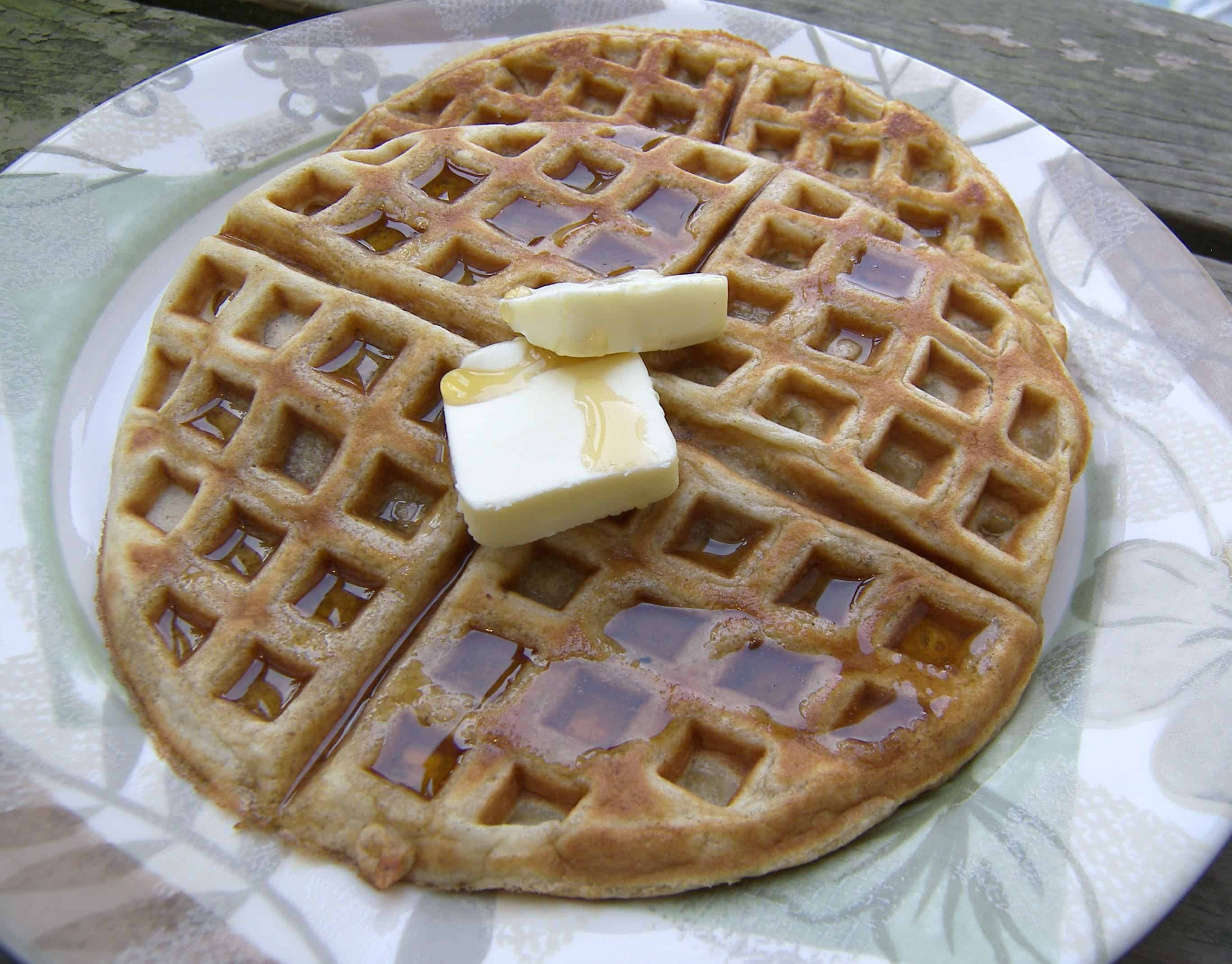 Alton brown 39 s oat waffle eat like no one else for Alton brown oat cuisine