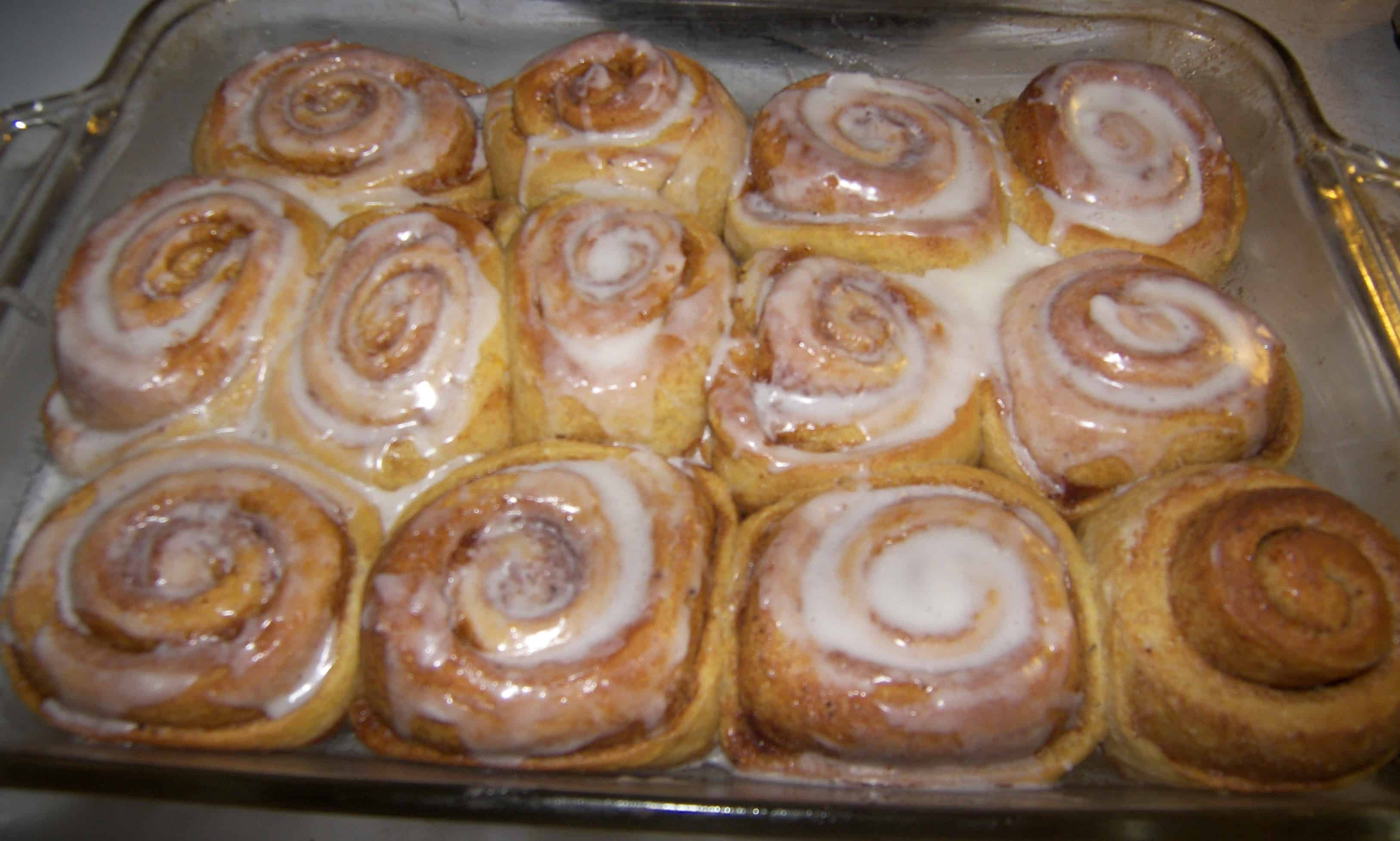 Pumpkin Cinnamon Rolls - Eat Like No One Else