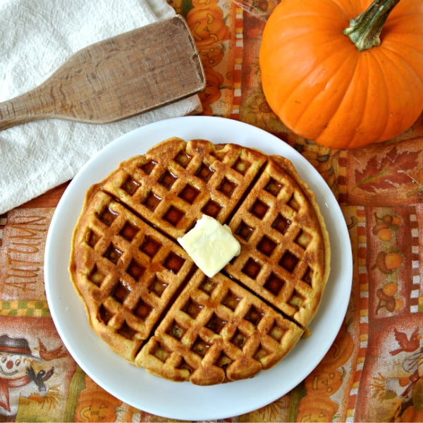 Pumpkin Waffles – Eat Like No One Else