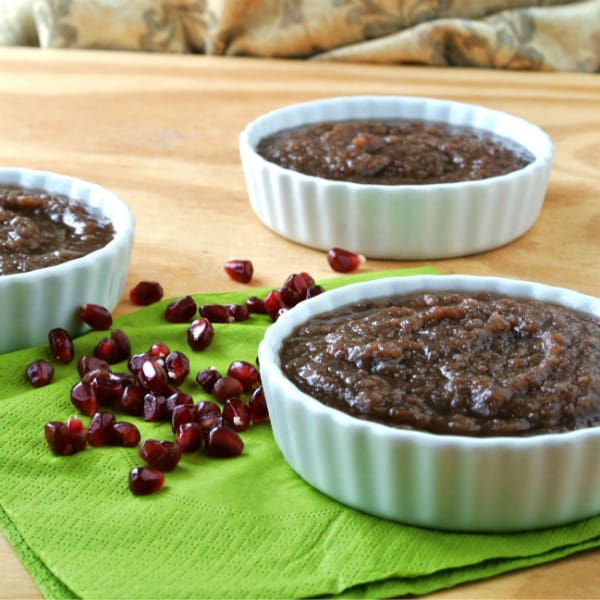 Pomegranate Applesauce