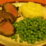 Beef Tenderloin Roast Meal
