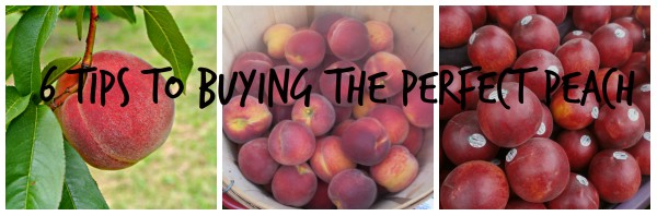 6 Tips to Buying the Perfect Peach