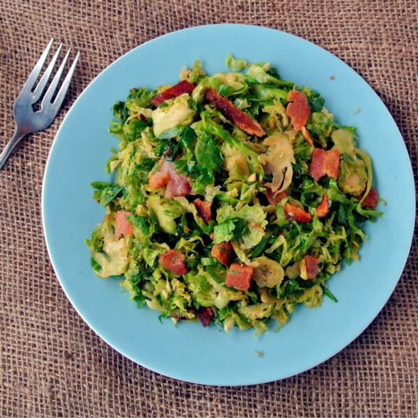 Shredded Brussels Sprouts With Bacon And Walnuts Recipes — Dishmaps