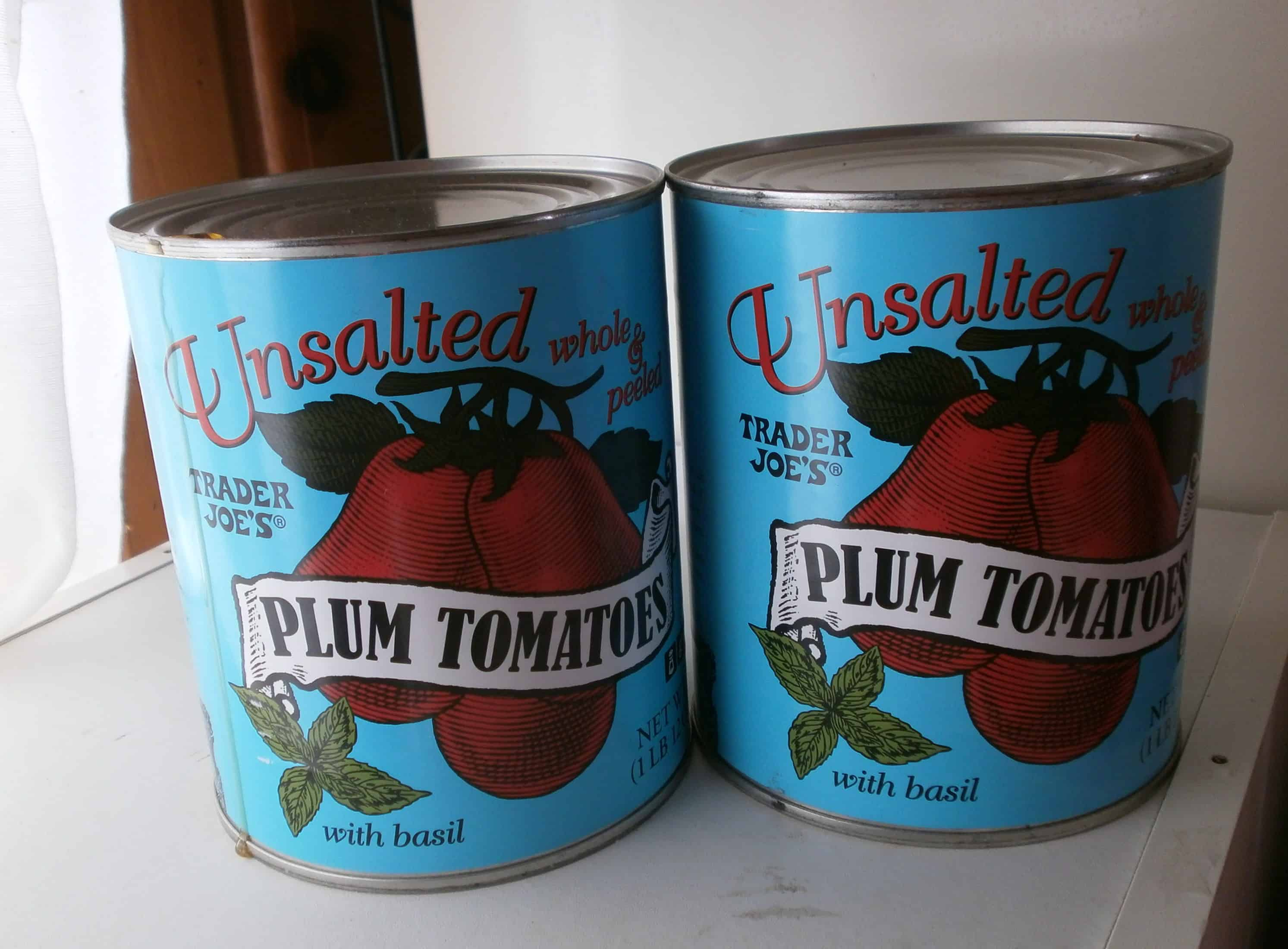 how to make tomato sauce from canned plum tomatoes