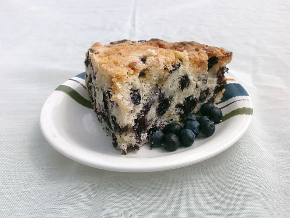 Blueberry Buckle Recipe — Dishmaps