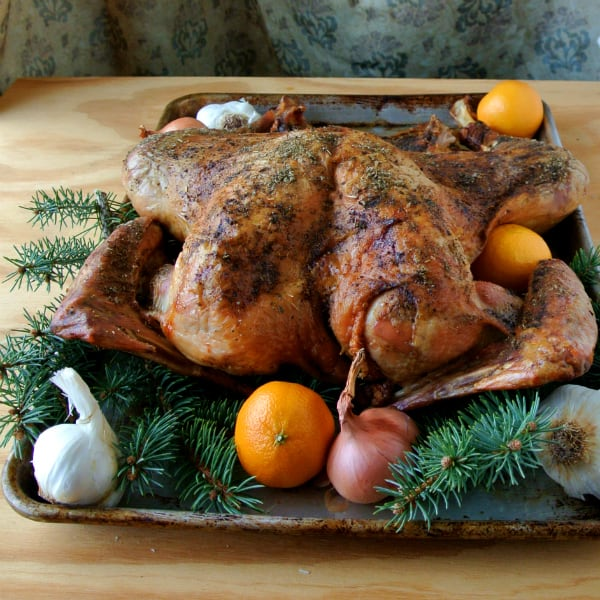 Dry Brined Turkey