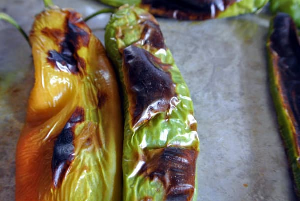 Broiled Hatch Chile