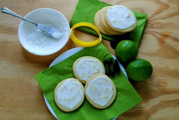 Organic Finger Lime Sugar Cookies