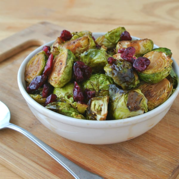 Pioneer Woman's Brussels Sprouts with Balsamic and Cranberries - Eat ...