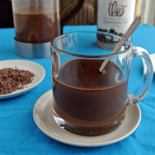 Cocoa Nib Hot Chocolate