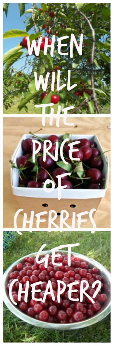 When Cherries Get Cheaper