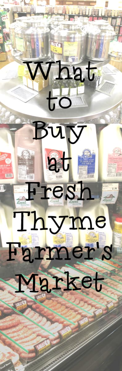 What to Buy at Fresh Thyme Farmer's Market