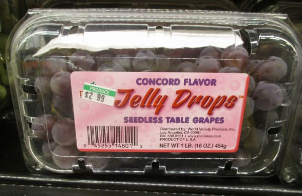 Jelly Drops Grapes