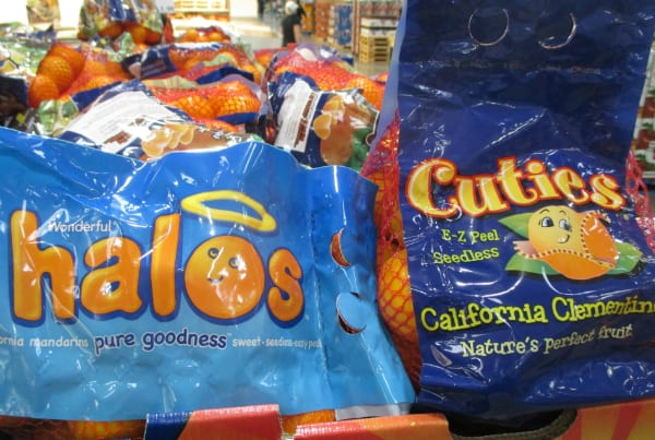 What is the Difference Between Halos and Cuties mandarin oranges California