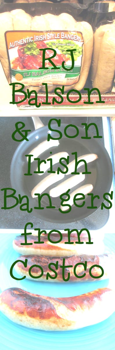 RJ Balson & Son Irish Bangers from Costco