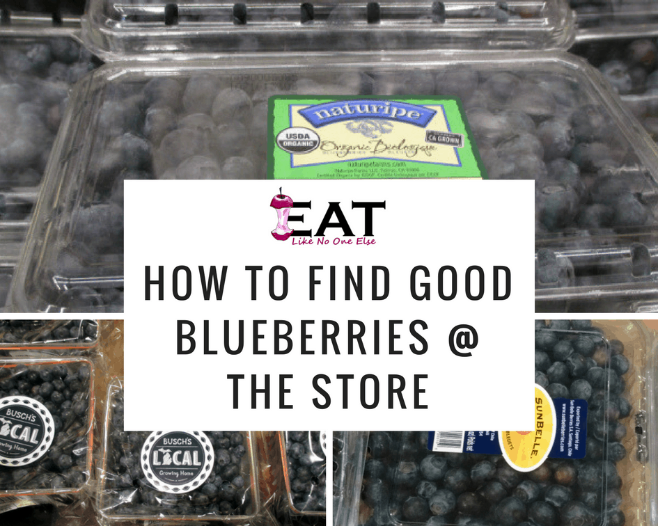 How to Find Good Blueberries
