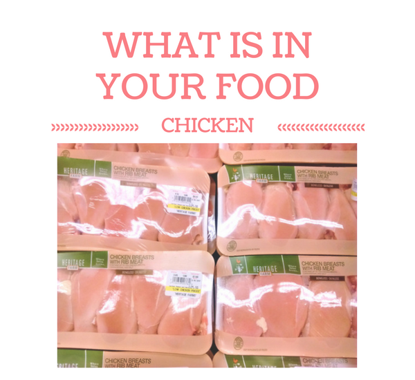 What is In Your Food Chicken carrageenan