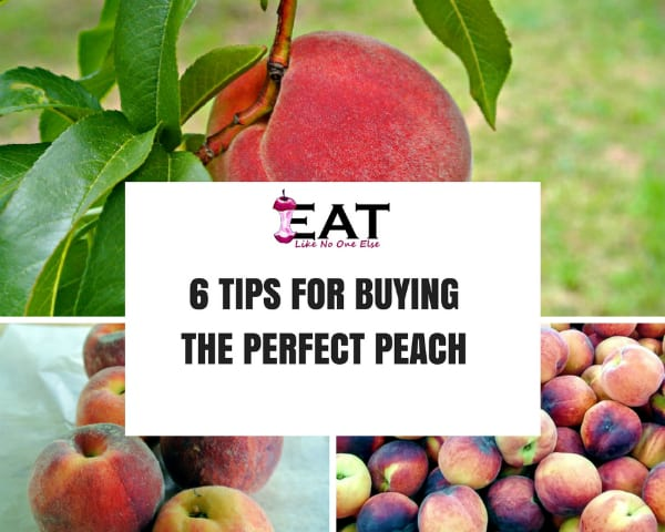 6 Tips for Buying the Perfect Peach How to Shop for the Perfect Peach