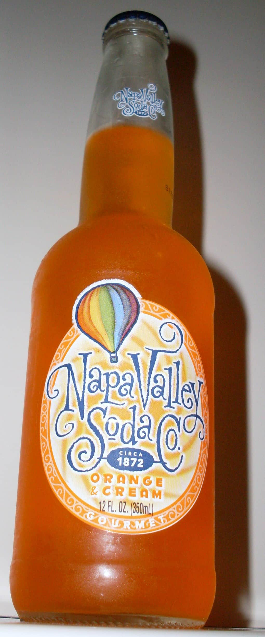 Napa Valley Soda Co. – Orange & Cream