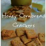Honey Cornbread Crackers