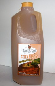 Mayer Bros Cinnamon Cider