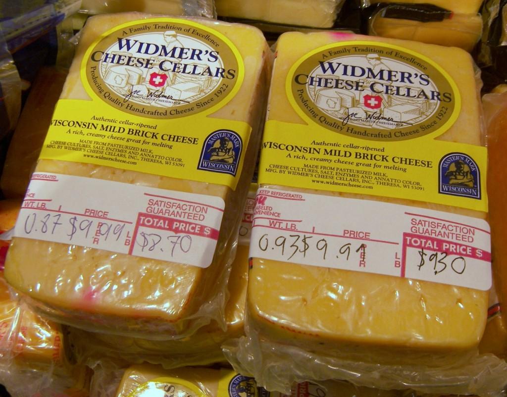 Widmer's Cheese Cellars Brick Cheees