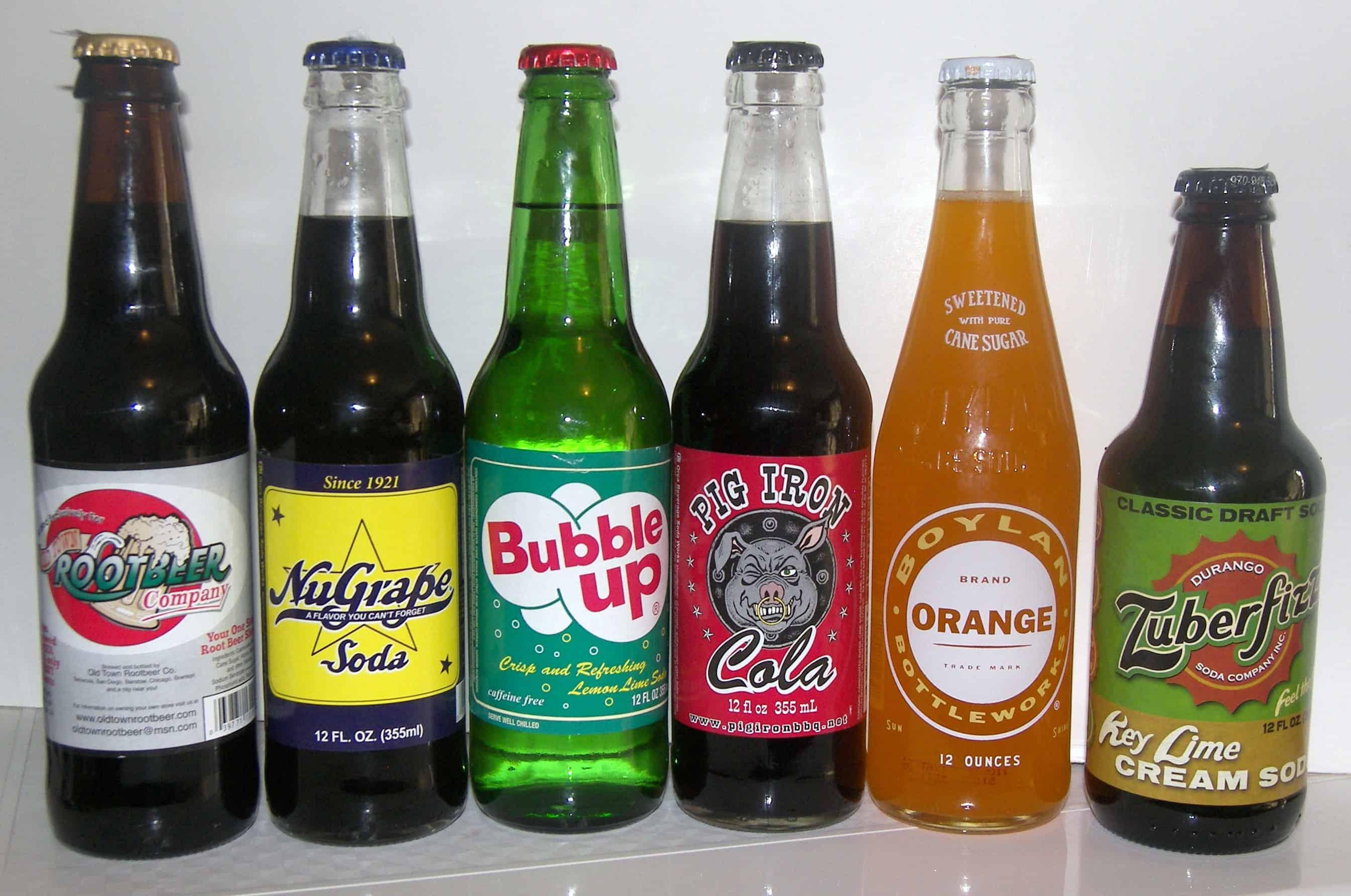 Antique Soft Drink Bottles