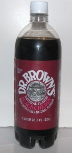 Dr Brown Black Cherry Soda