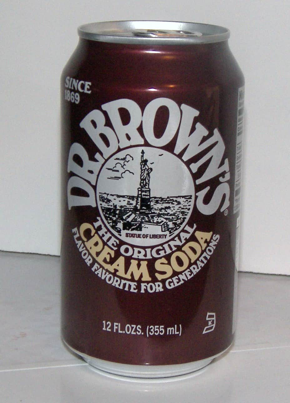 Can Cream Soda ~ Dr brown s cream soda eat like no one else