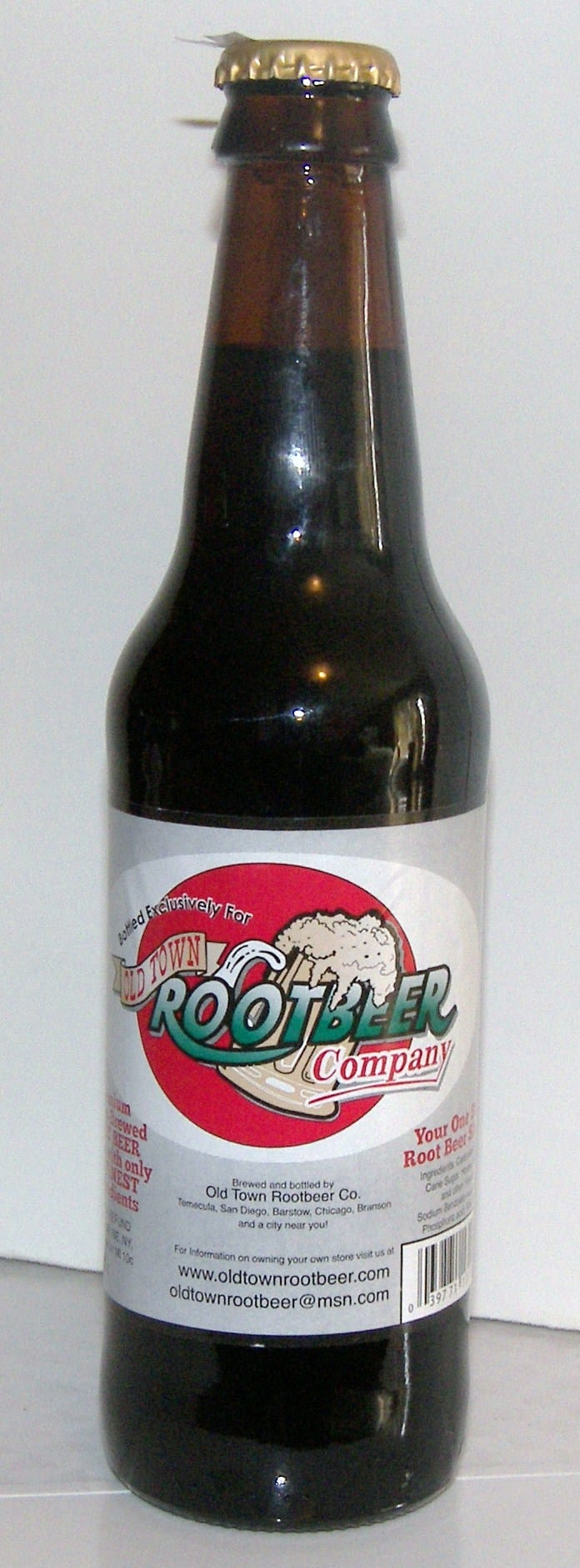 Old Town Root Beer Eat Like No One Else