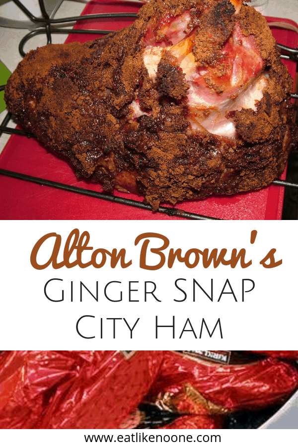 Alton Brown's Ginger Snap City Ham