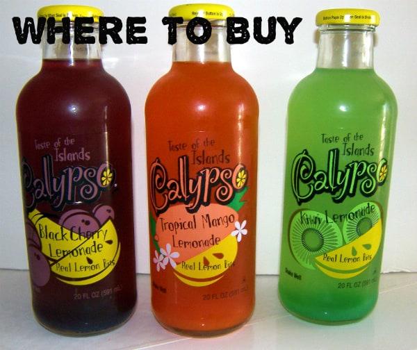 Where to Buy Calypso Lemonade