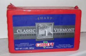 Cabot Vermont Cheddar