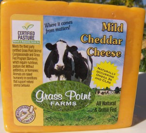Grass Point Farms Mild Cheddar Pic 2