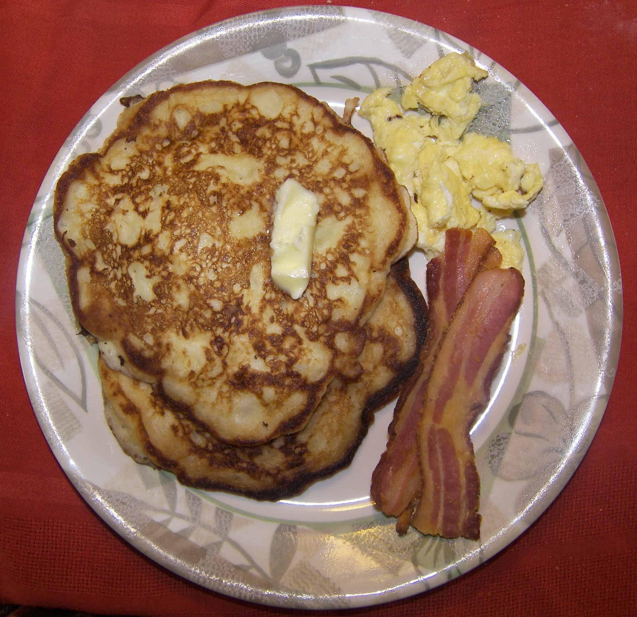 Buttermilk waffles alton brown for Alton brown oat cuisine