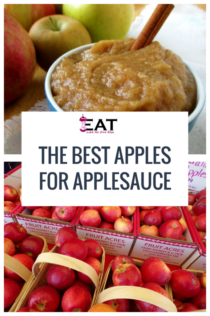 The Best apples to use to make applesauce