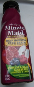 Minute Maid Pomegranate Blueberry