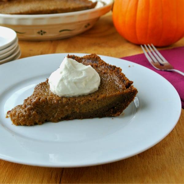 Alton Brown's Pumpkin Pie