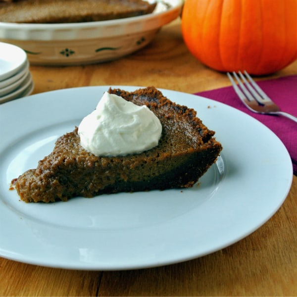Alton Brown's Pumpkin Pie