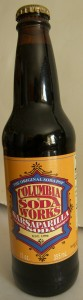 Columbia Soda Works Sarsaparilla