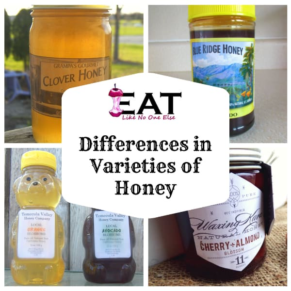 What is the Difference in Honey Varietals?
