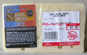 Trader Joe Baby Swiss