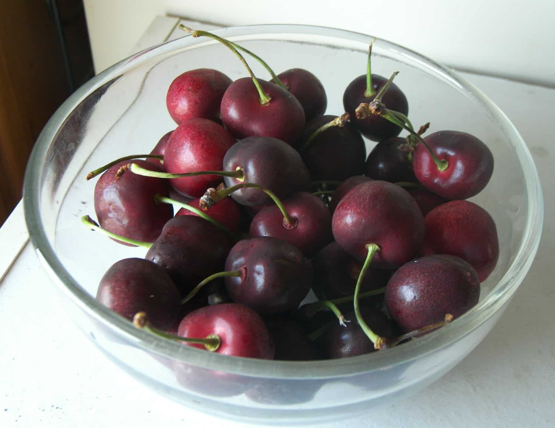 Chelan Cherries what are from California Washington