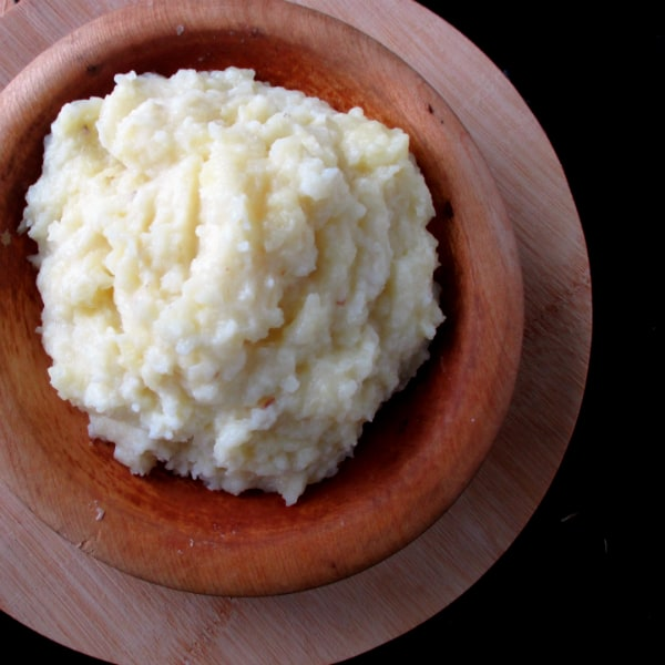 Alton Brown's Whipped Potatoes