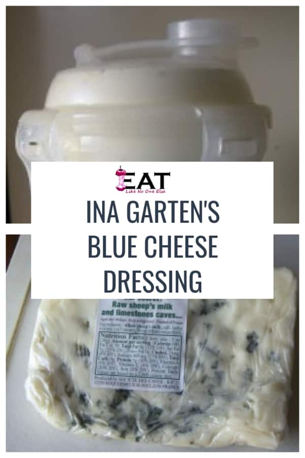Ina Garten's Blue Cheese Dressing Review