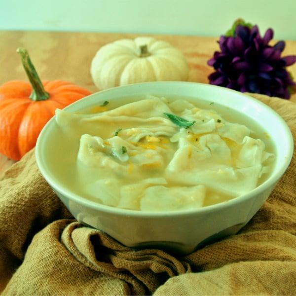 Pumpkin Tortellini Soup