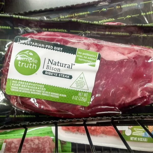 Bison Meat Michigan Kroger Simple Truth