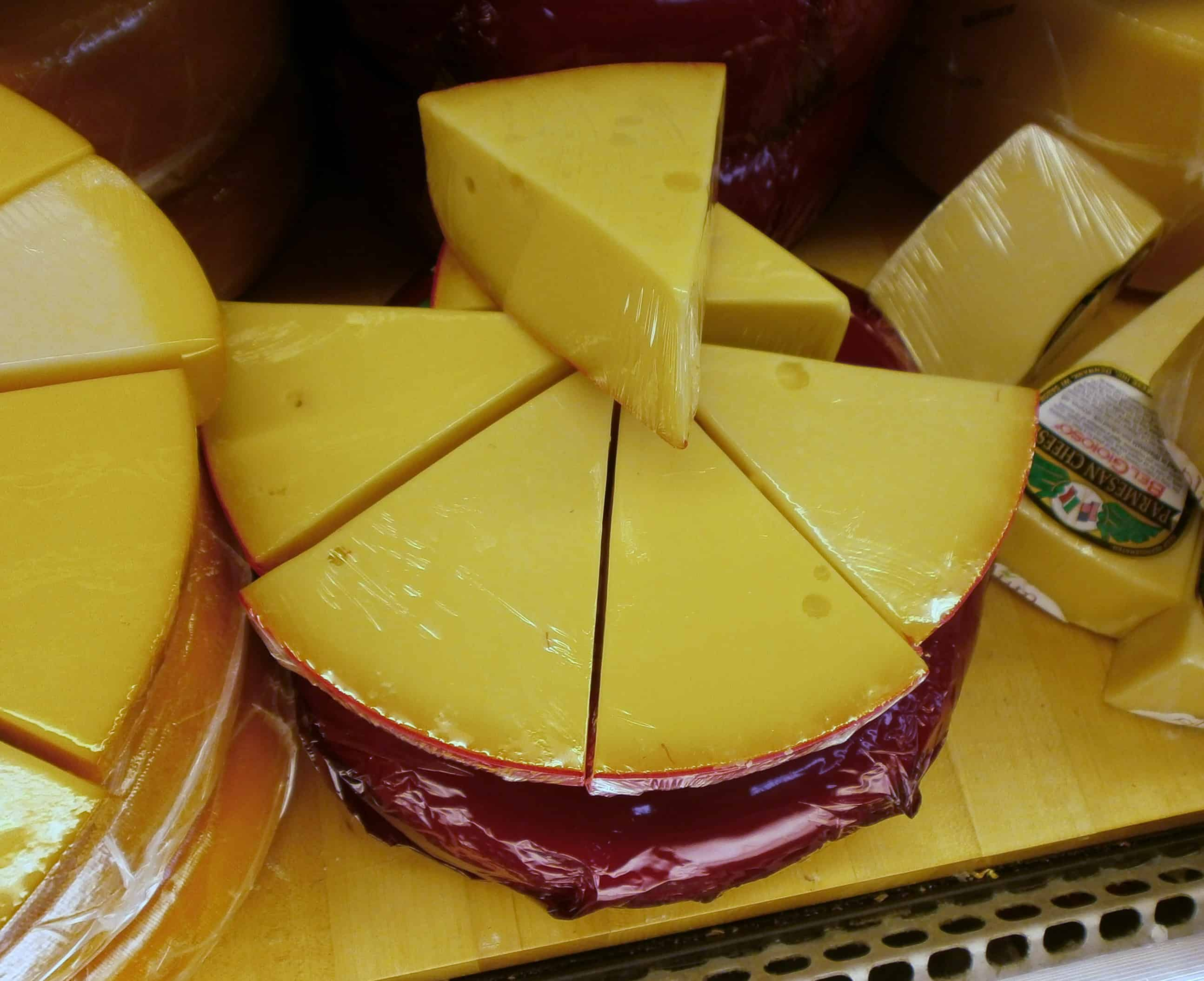 Red Wax Gouda